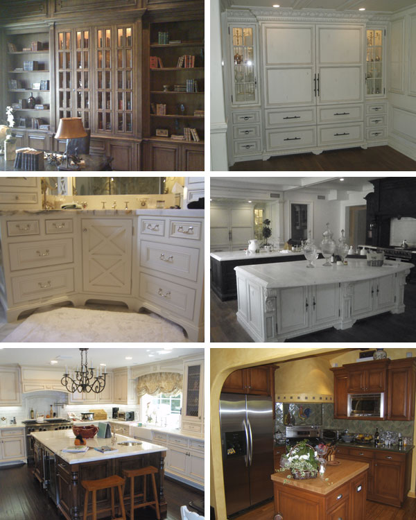 C C Custom Cabinets Collage
